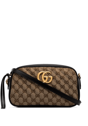 Gucci Marmont quilted camera bag - Brown