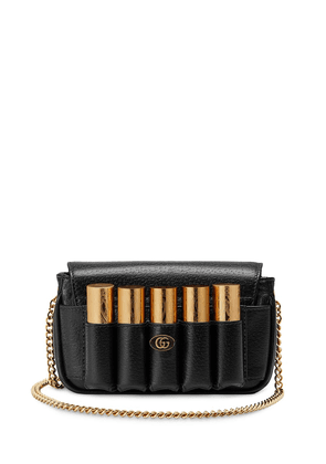 Gucci Double G porte-rouge mini bag - Black