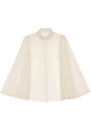 Gucci shirt with pleated sleeves - White