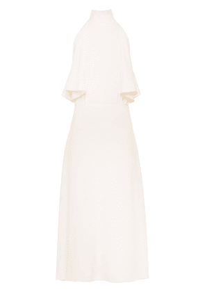 Prada Satin draped dress - NEUTRALS