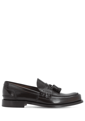 Oreham Glossy Leather Loafers