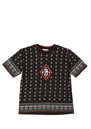 All Over Print Cotton Jersey T-shirt