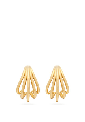 Ana Khouri - Delphine 18kt Gold Earrings - Womens - Yellow Gold