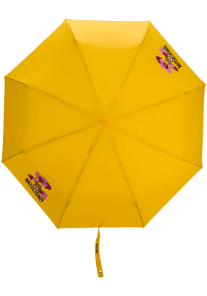 Moschino bear and balloon umbrella - Yellow
