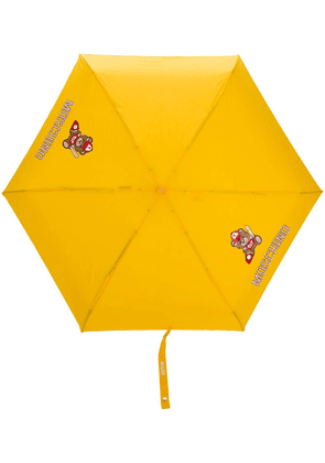 Moschino baseball bear umbrella - Yellow