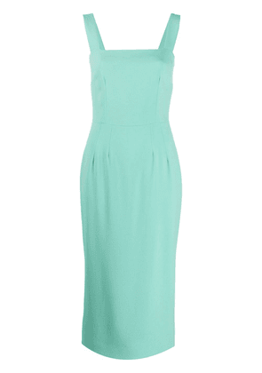 Dolce & Gabbana fitted midi dress - Green