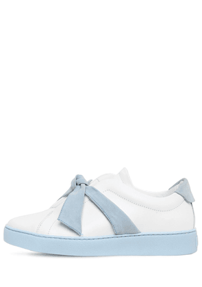 30mm Clarita Leather & Suede Sneakers