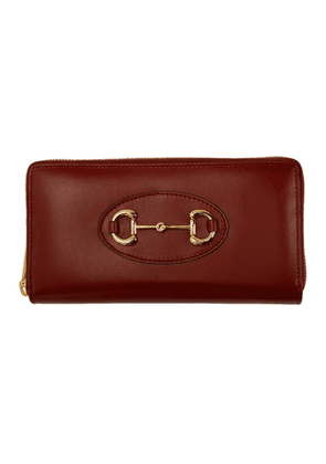Gucci Red 1955 Horsebit Wallet