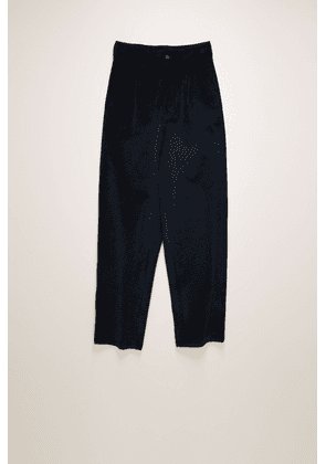 Acne Studios FN-MN-TROU000263 Navy  Tapered fit corduroy trousers