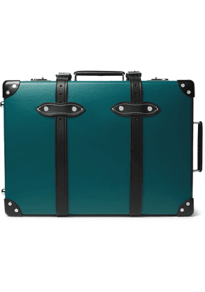 Globe-Trotter - Chelsea Garden 20 Leather-Trimmed Carry-On Suitcase' - Men - Blue