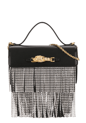 Gucci crystal-embellished crossbody bag - Black