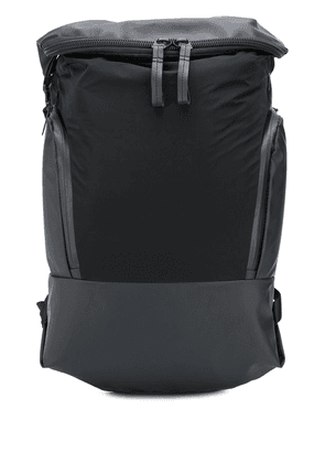 Côte & Ciel double zip backpack - Black