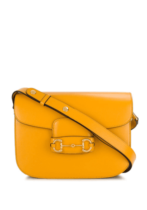 Gucci 1955 Horsebit shoulder bag - Yellow