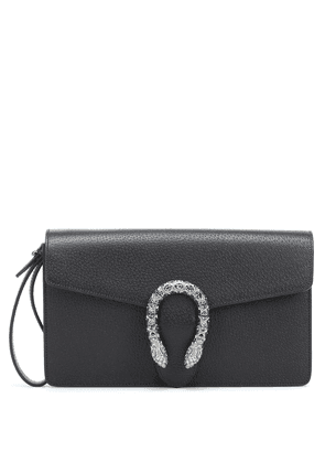 Dionysus leather clutch