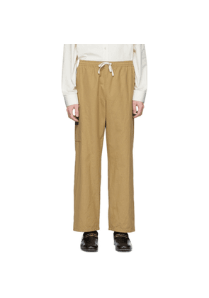 Gucci Tan Gucci Orgasmique Cargo Pants