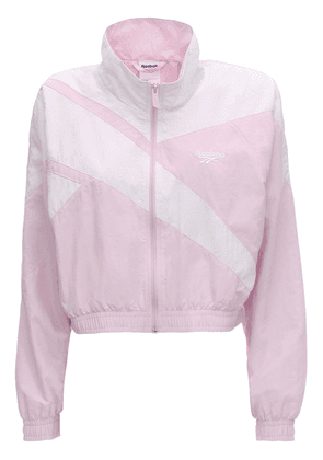 Cropped Zip-up Track Top