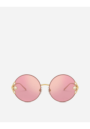 Dolce & Gabbana Sunglasses - FILIGREE & PEARLS SUNGLASSES PINK