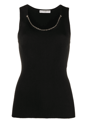 Givenchy chain embellished sleeveless top - Black