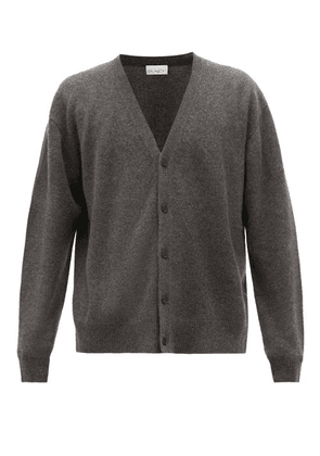Raey - Loose-fit Cashmere Cardigan - Mens - Charcoal