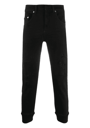 Neil Barrett cuffed skinny jeans - Black