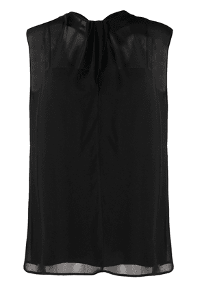 Prada back tie fastening blouse - Black