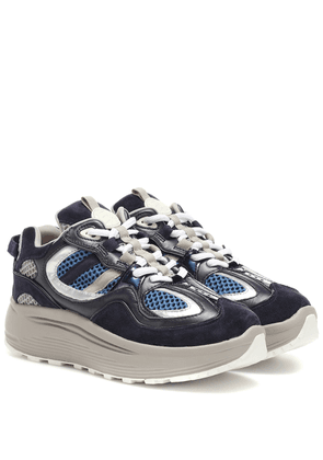 Jet Turbo leather sneakers