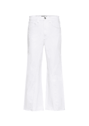 Aimee high-rise wide-leg jeans