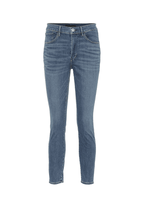 W3 cropped high-rise skinny jeans