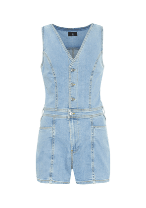 Albany denim playsuit