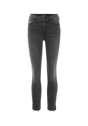 W2 cropped mid-rise skinny jeans