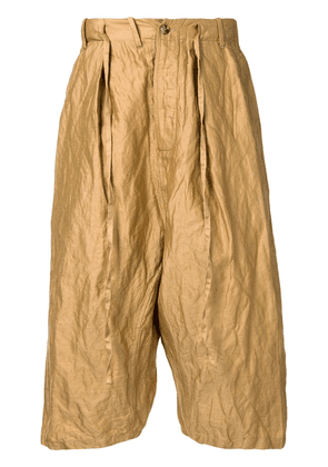 Forme D'expression tailored sarouel pants - Brown