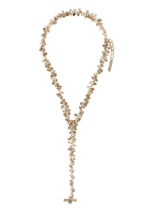 Gianvito Rossi chain bracelet with ring - GOLD