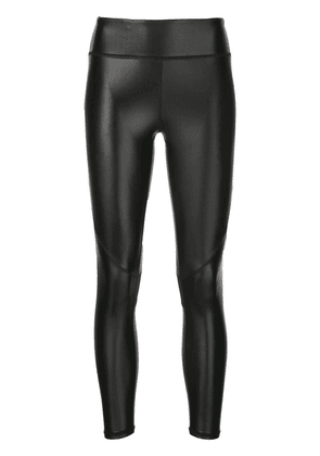 ALALA slim-fit cropped leggings - Black