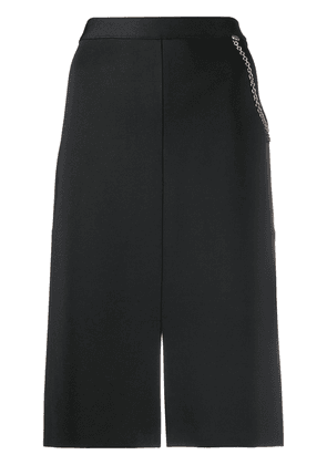 Givenchy chain detail straight skirt - Black