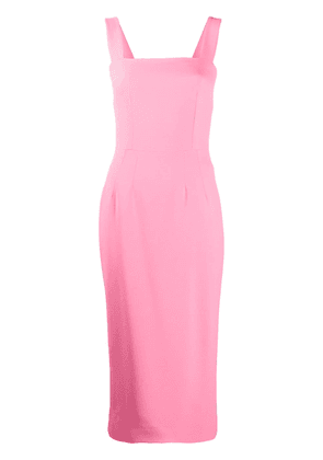 Dolce & Gabbana fitted pencil midi dress - PINK