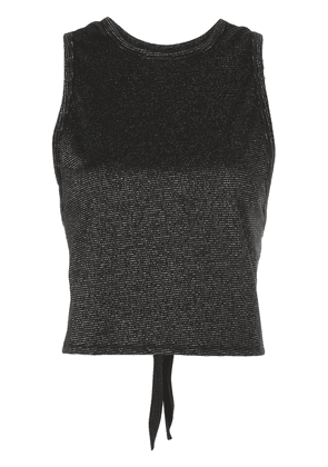 ALALA metallic sleeveless top - Black