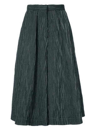 Co flared culotte trousers - Black