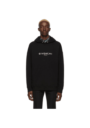Givenchy Black Givenchy Paris Hoodie