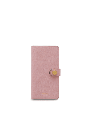 Mulberry Huawei Pro 20 Flip Case in Powder Pink Small Classic Grain