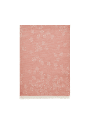 Mulberry Tamara Scarf in Coral Cotton
