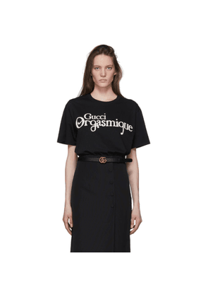 Gucci Black Gucci Orgasmique T-Shirt