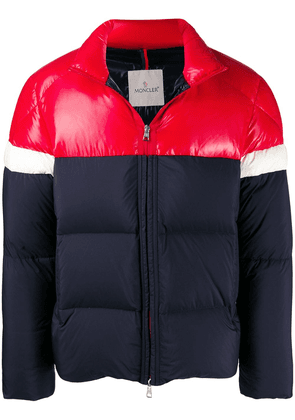 Moncler fitted puffer jacket - Red