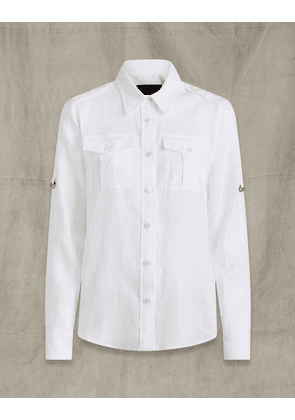 Belstaff IDA SHIRT White UK 4 /