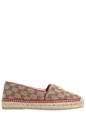 20mm Pilar Quilted Canvas Espadrilles