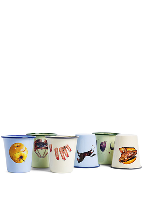 Seletti Toiletpaper set of 6 assorted pieces - NEUTRALS