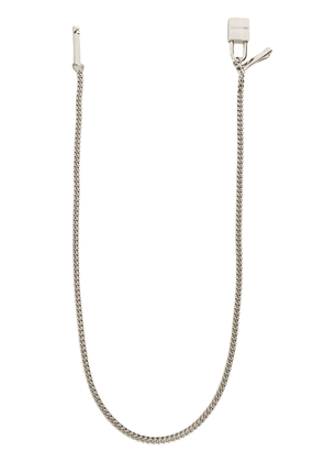 Dsquared2 padlock detail chain - SILVER