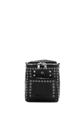 McQ Alexander McQueen small convertible eyelet backpack - Black