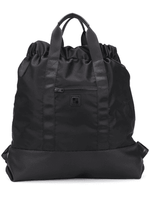 Woolrich oversized drawstring backpack - Black