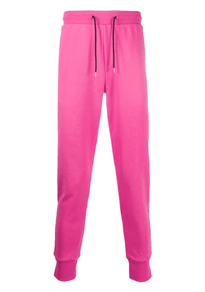 Paul Smith high-waisted tapered track trousers - PINK