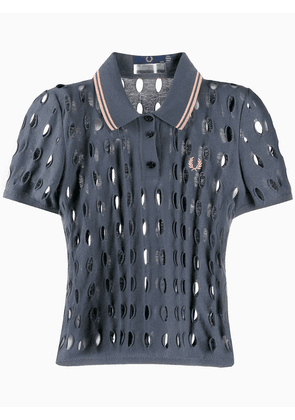 Fred Perry detailed polo shirt - Blue